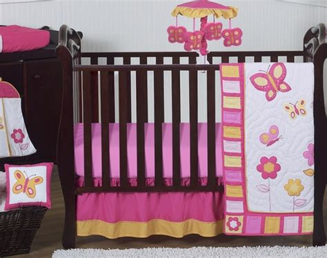 Orange And Pink Crib Bedding Pink And Orange Butterfly Baby Bedding 11pc Crib Set Only 189 99