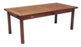 eucalyptus wood outdoor coffee table 168 00 park
