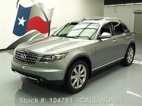 Infinity Auto Roadside Assistance Number by Find Used 2008 Infiniti Fx35 Sport Sunroof Htd Leather 20