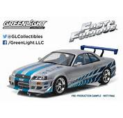Blue Light 2 Fast Furious Brian O Conner S Skyline R34 Gt R