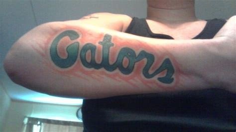 florida gators tattoos 1000 ideas about tattoos on