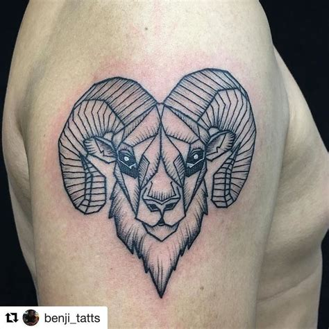 ram tattoos the 25 best ram ideas on aries ram