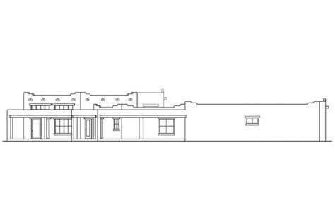Santa Fe Style House Plans by Southwest House Plans Santa Fe 11 127 Associated Designs