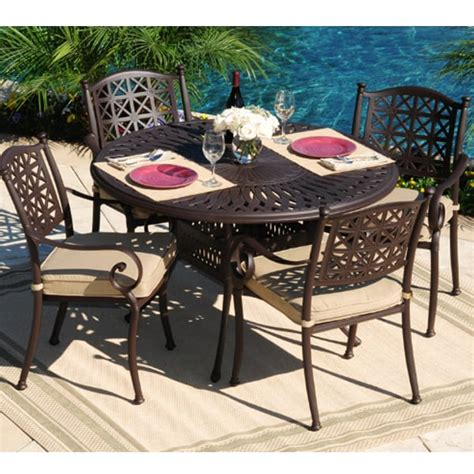 Cast Aluminum Patio Furniture Sets All Weather Cast Aluminum Outdoor Furniture