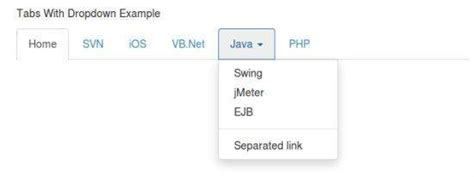 tutorial bootstrap tabs bootstrap dropdown plugin