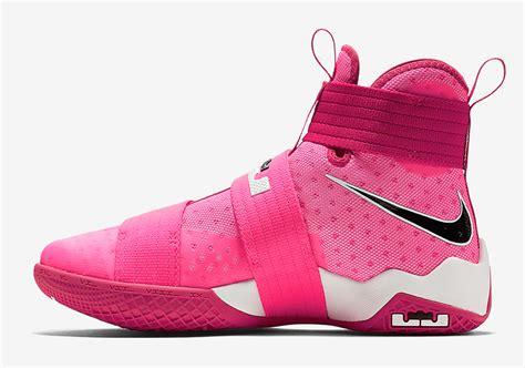 nike lebron soldier 10 think pink 844375 606 sneakernews