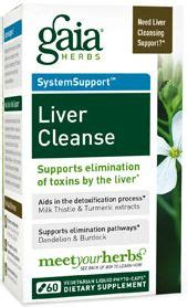 Gaia Detox by Liver Cleanse By Gaia Herbs Freshest Vitamins And