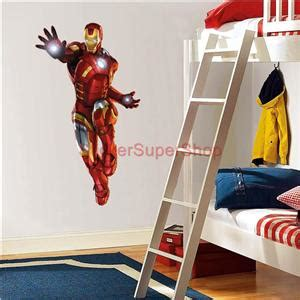 iron man home decor iron man the avengers decal removable wall sticker home