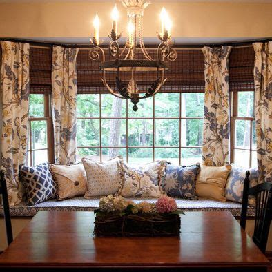 window seat in dining room window seat in dining room bay window the draperies
