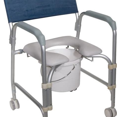 Rolling Shower Chair Commode by Rolling Shower Chair And Commode By Drive