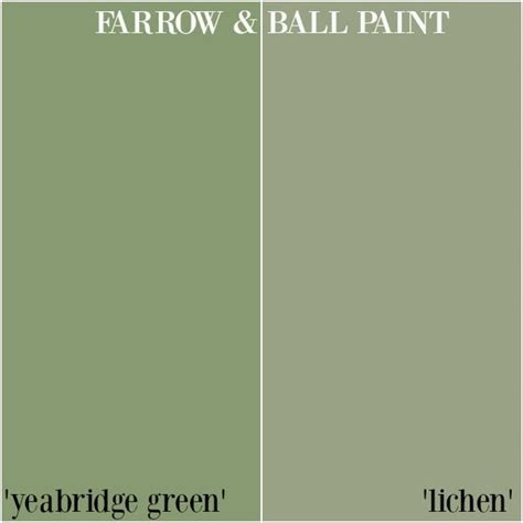 farrow paint yeabridge green v lichen honey we re home farrow