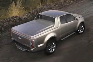 look next generation chevrolet colorado show truck