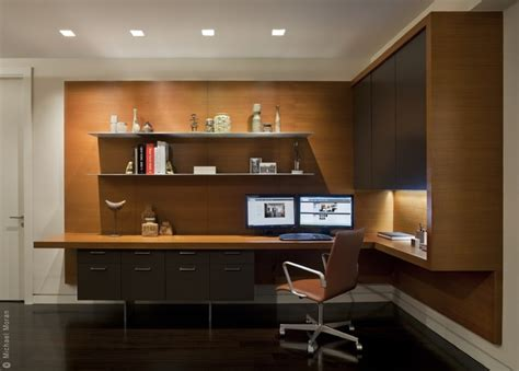contemporary home office 57th residence