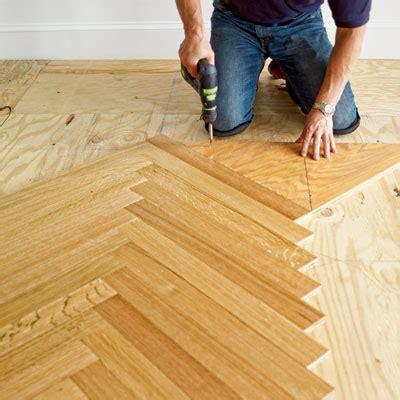 How to Install a Herringbone Floor   Herringbone, House