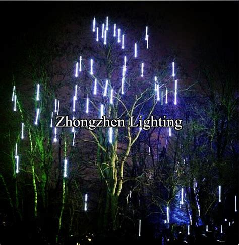 outdoor commercial grade led christmas led snowfall meteor