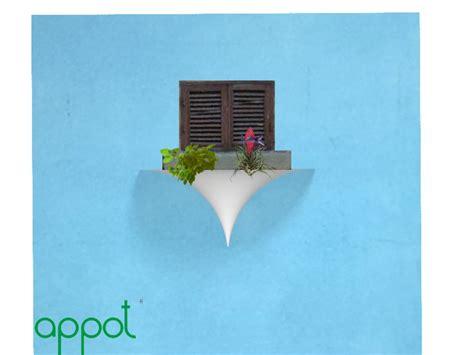vasi pensili appot sistema di vasi pensili crowdfunding