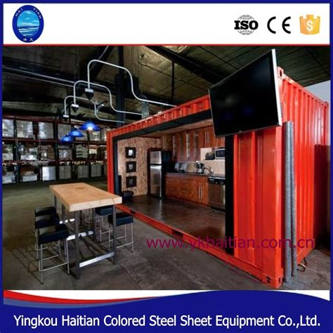 How Can We Decorate Our Home by Modern Mobile Container House Coffee Bar 40ft Container