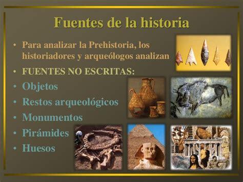 imagenes de fuentes historicas no escritas la historia