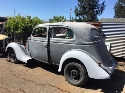 1936 buick 2 door trunkback sedan survivor to find model 4411 for sale photos 1935 ford tudor sedan slantback survivor 2 door flathead hamb 1936