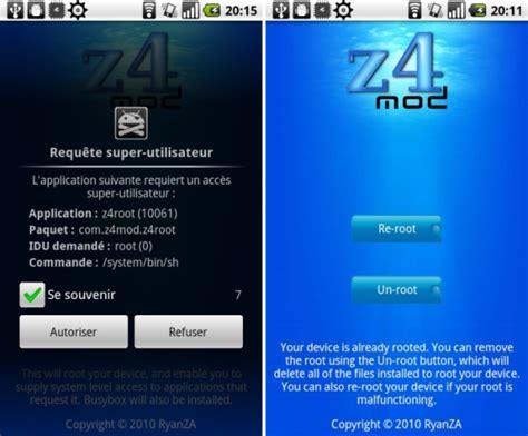 zroot apk z4root apk realize o de um dos melhores apps para root