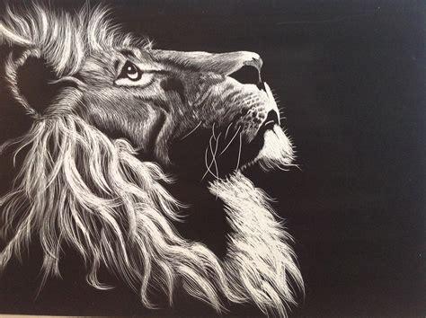imagenes de leones a blanco y negro ilustraci 243 n gratis le 243 n blanco y negro grabado imagen