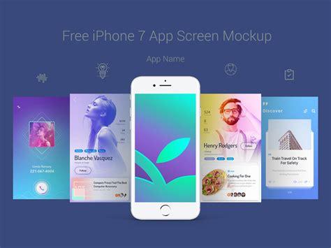 events free mobile app design free psds amp sketch app