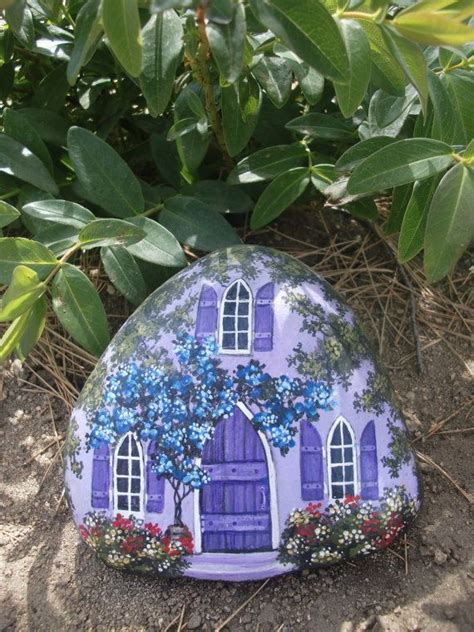 painted rock houses 17 best ideas about fairy house crafts on pinterest