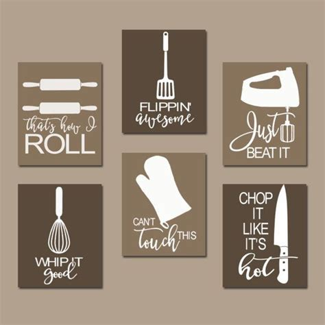 kitchen wall art funny mix it up just roll with it by kitchen quote wall art funny utensil pictures canvas or