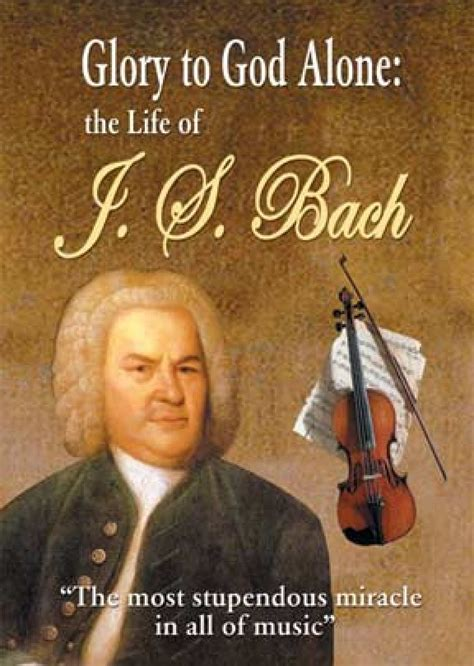 J S Bach to god alone of j s bach book vision