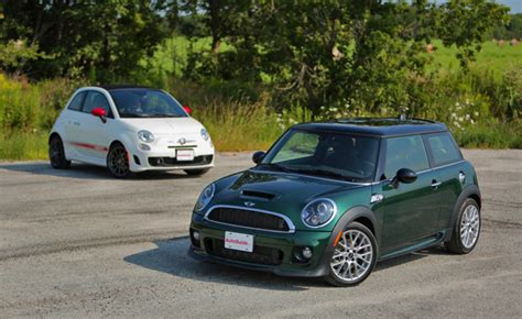 mini cooper s vs fiat 500c abarth mini cooper forum