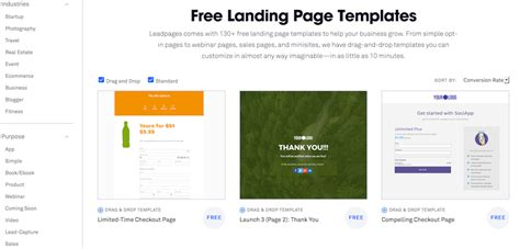 Do I Need A Landing Page Leadpages Landing Page Templates