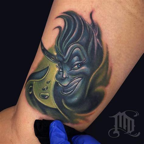 ursula tattoo ursula by mike devries tattoos