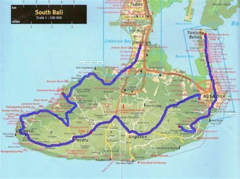peninsula resort bali map south bali by shanks mare only ed