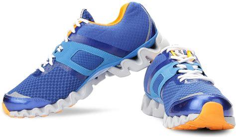reebok running shoes zigtech reebok zigtech 3 0 running shoes for buy blue color