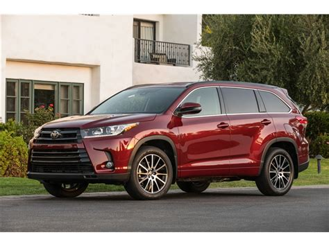 Price Of Toyota Highlander Toyota Highlander Prices Reviews And Pictures U S News