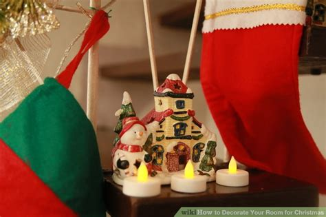 3 ways to decorate your room for christmas wikihow how to decorate your room for christmas wikihow