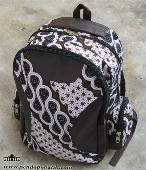 tas ransel batik pendopo batik