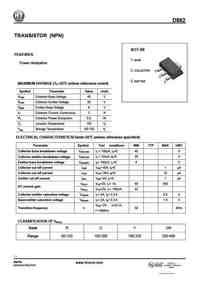 D882 Datasheet, Equivalent, Cross Reference Search