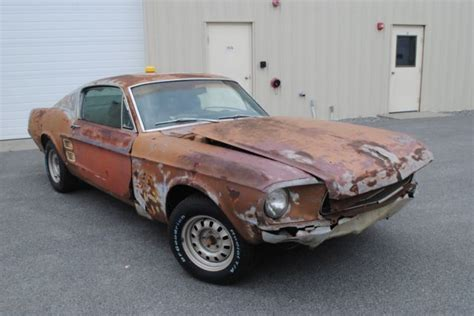 1967 Ford Mustang Fastback Burnt Umber For Sale Craigslist Used Cars For Sale 1967 Mustang Fastback Project 289 Rebuilt Engine