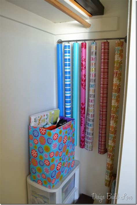 How To Wrap A For Storage by Endless Options Find Your Best Gift Wrap Storage Solution