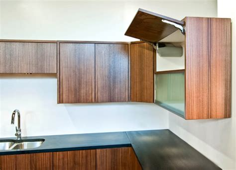Innovations From The Cabinet Shop Build Blog Pull Up Kitchen Cabinets