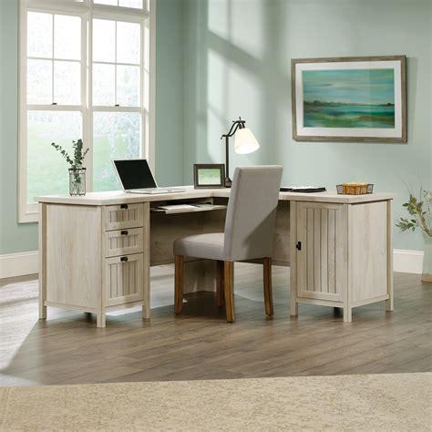 sauder l shaped desks costa l shaped desk 419956 sauder