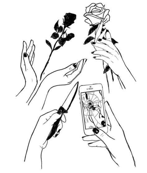 imagenes a blanco y negro para niñas dibujos blanco y negro tumblr