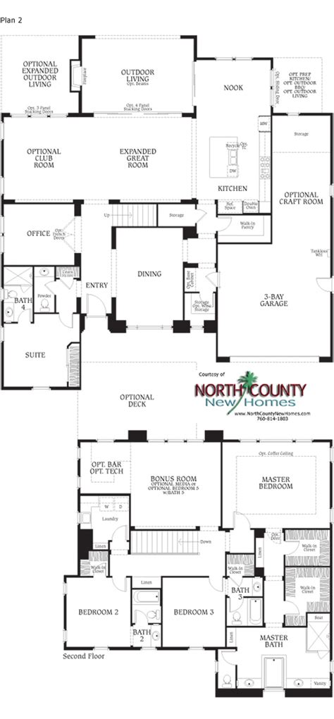 floor plan la southern preserve la costa floor plan 2 new homes