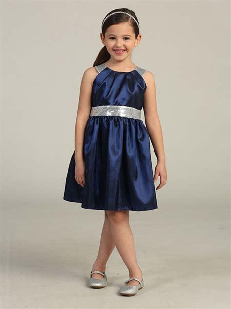 silver taffeta dress w sequins belt shoulders