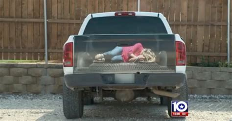 truck bed decals texas business creates truck decal of woman bound and tied