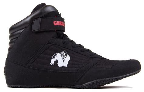 gorilla shoes gorilla wear shoes black high tops bodybuilding shoes