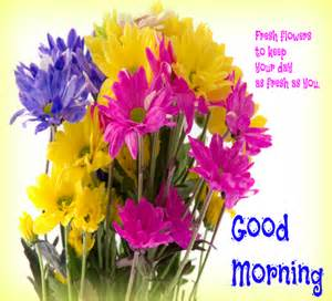 fresh flowers for this morning free good morning ecards