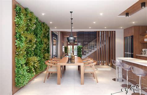 garden wall interior design ideas