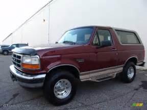 1996 Ford Bronco Eddie Bauer 1996 Toreador Metallic Ford Bronco Eddie Bauer 4x4